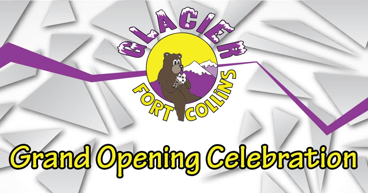 Glacier Ice Cream Fort Collins Grand Opening Celebration